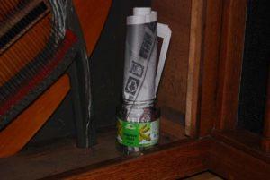 Pot water met krant: het alternatief